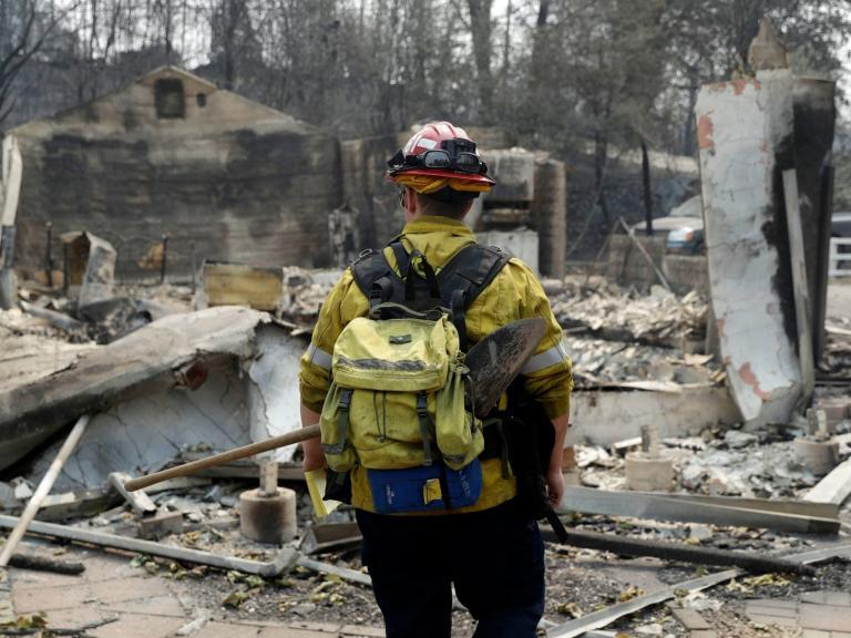 California wildfire: Firefighters gain ground on devastating inferno as victims' families reel from loss