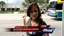 FAU police shoot knife-wielding homeless man