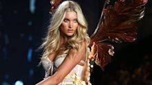 Elsa Hosk Just Revealed One of Her Victoria's Secret Fashion Show Looks and We Can't Stop Staring