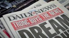 Tronc to change name back to Tribune Publishing after two years of ridicule