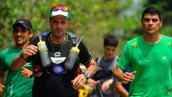 Ultramaratonista Marcio Villar corre 100km para o IncaVoluntário