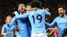 Manchester City Beat United 2-0, Back on Top of Premier League