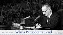 Lyndon B. Johnson: Moral clarity on civil rights