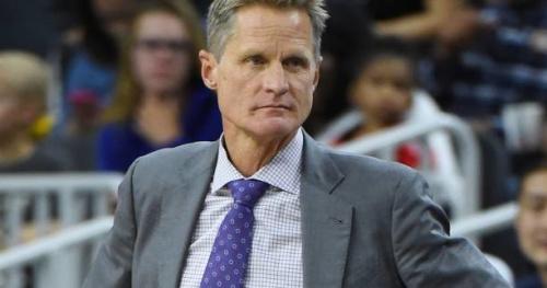 Basket - NBA - Absent pour le match 4 entre Golden State et Portland, Steve Kerr souffre bien du dos