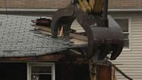First Person: Damaged 'Sandy' Home Demolished