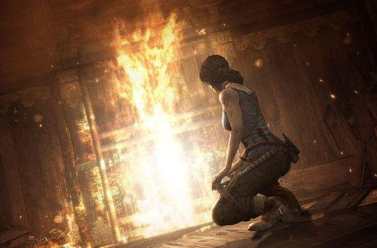 Lara goes camping in first episode of Tomb Raider's 'Guide to Survival'