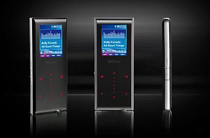 TrekStor showcases i.Beat blaxx portable media player