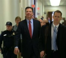 Former FBI director Comey back on Capitol Hill
