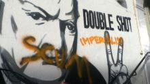 Winston Churchill blasted as 'imperialist scum' as themed cafe in north London forced to remove vandalised mural