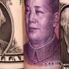 Dollar treads water against euro; yuan sinks on U.S.-China tensions