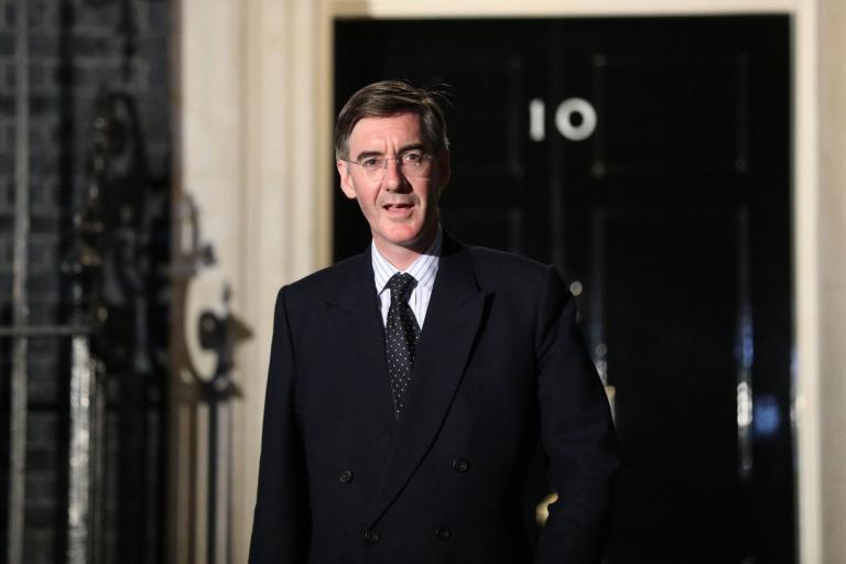 Rees-Mogg enters Boris government, style guide in hand