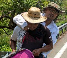 Tough trek for Central American migrant caravan heading through Mexico to U.S. border