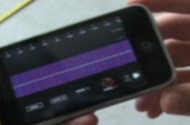Found Footage: The iPhone sonic ruler
