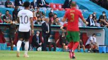 Foot - Euro - POR - Fernando Santos après Portugal-Allemagne: «Notre collectif s'est manqué»