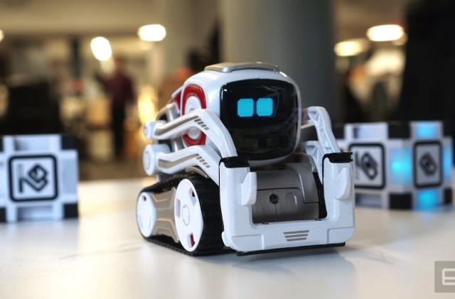 Anki's adorable Cozmo robot is hard not to love