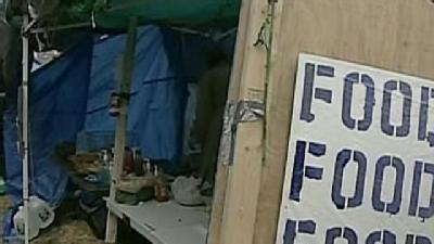 Inspectors Eye Occupy Boston's Tent City