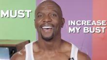 Watch Terry Crews Teach a Hilarious Masterclass in 'Pec Popping 101'