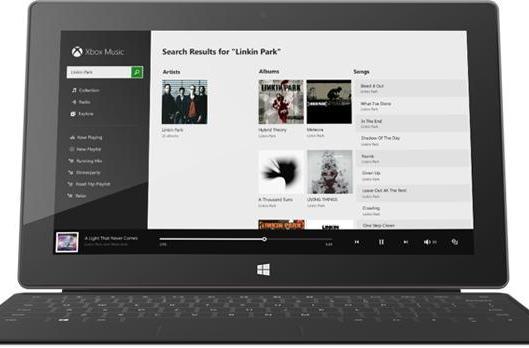 Xbox Music ditches free desktop streaming on December 1st