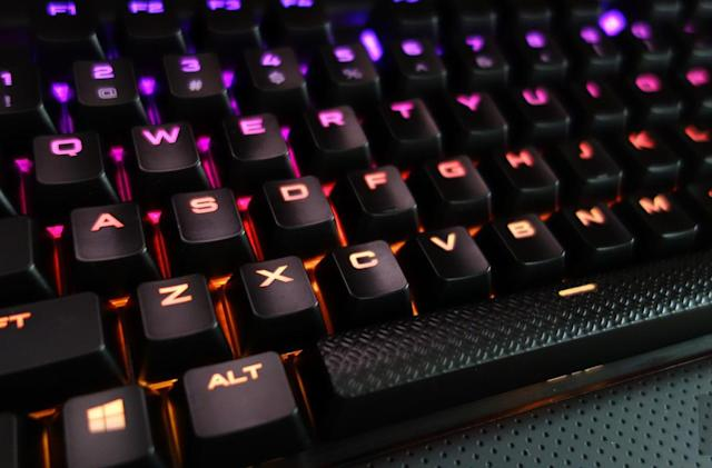 The Rapidfire K70 is a gaming keyboard that typists will love