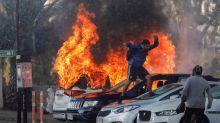 Violentas protestas en la apertura del festival Viña del Mar en Chile