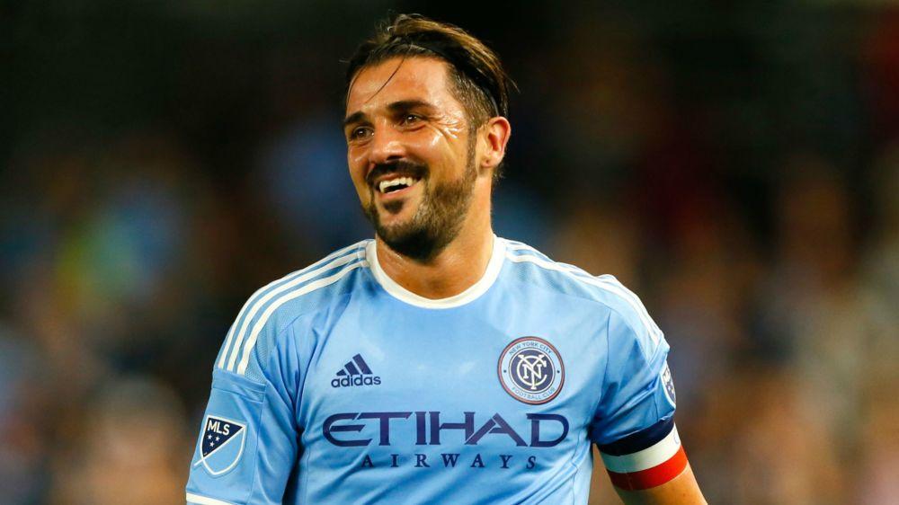 David Villa verlängert seinen Vertrag in New York