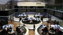 European shares fall as EU growth falters, earnings weigh