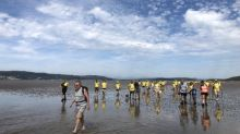 Sands and time: from Lancashire to Cumbria in bare feet