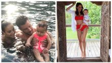Inside Sam Wood and Snezana's adorable family album