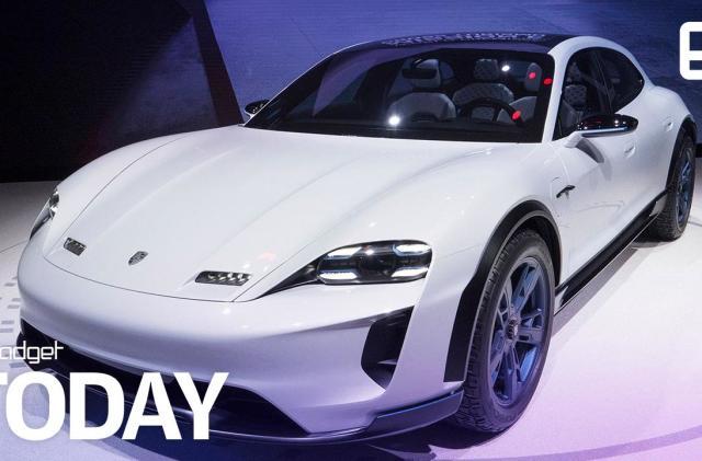 Porsche unveils its insanely fast Tesla Model X rival