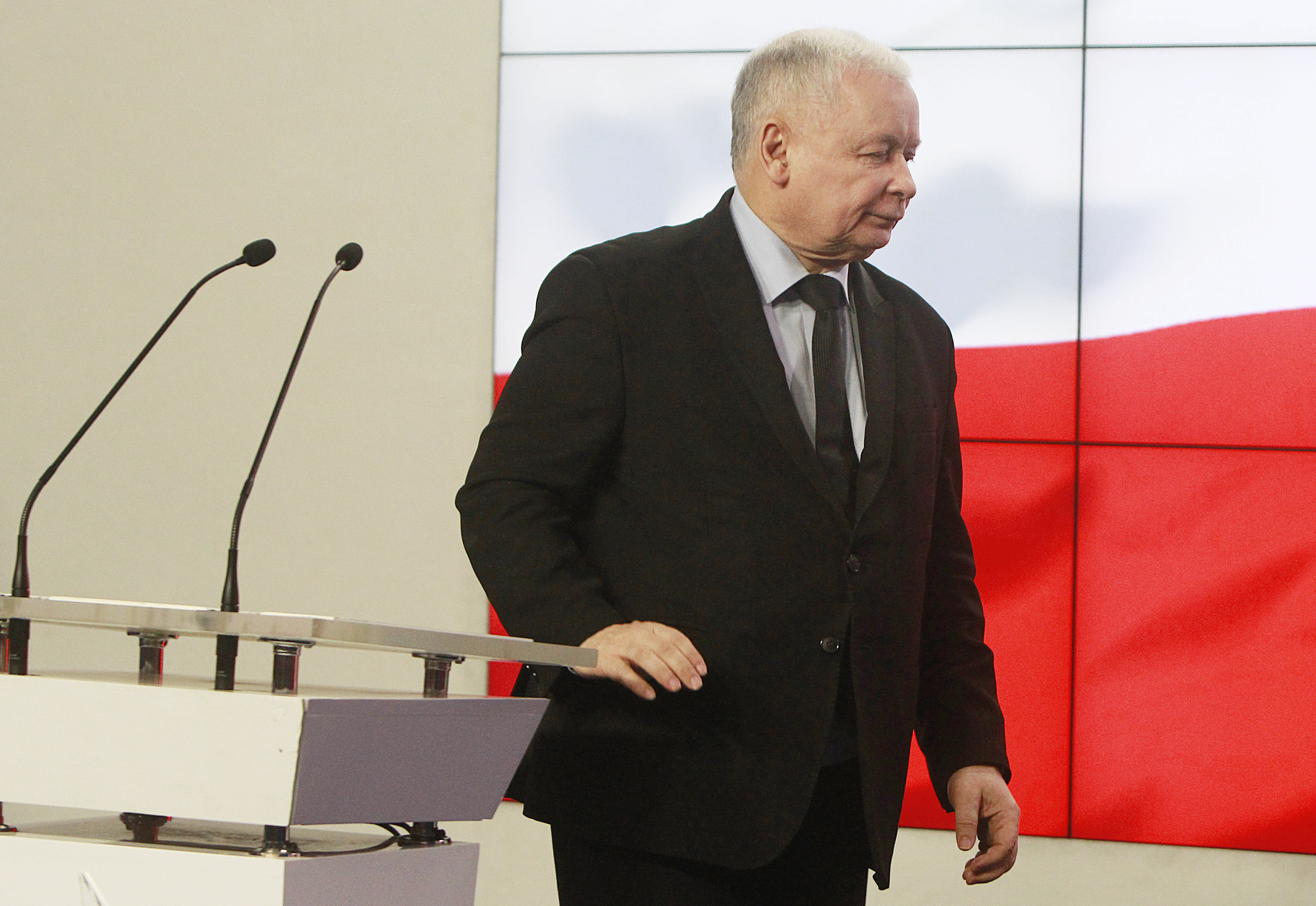 f6d8774e68de FILE - In this March 13, 2017 file photo, Jaroslaw Kaczynski, the leader