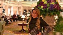 Zilu Camargo curte férias de ostentação nos EUA