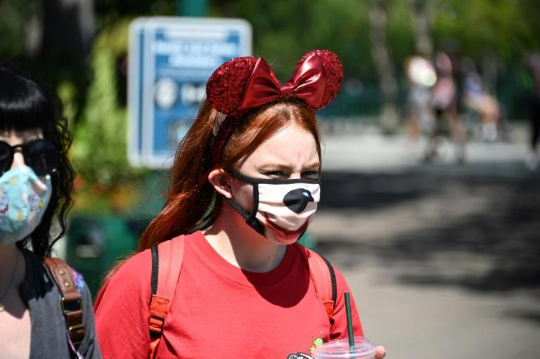 While other Disney theme parks have reopened, Disneyland in Anaheim near Los Angeles is still shut -- cutting into the company's bottom line and forcing layoffs