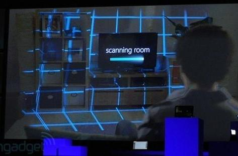 Microsoft IllumiRoom projects its vision for next-gen Xbox