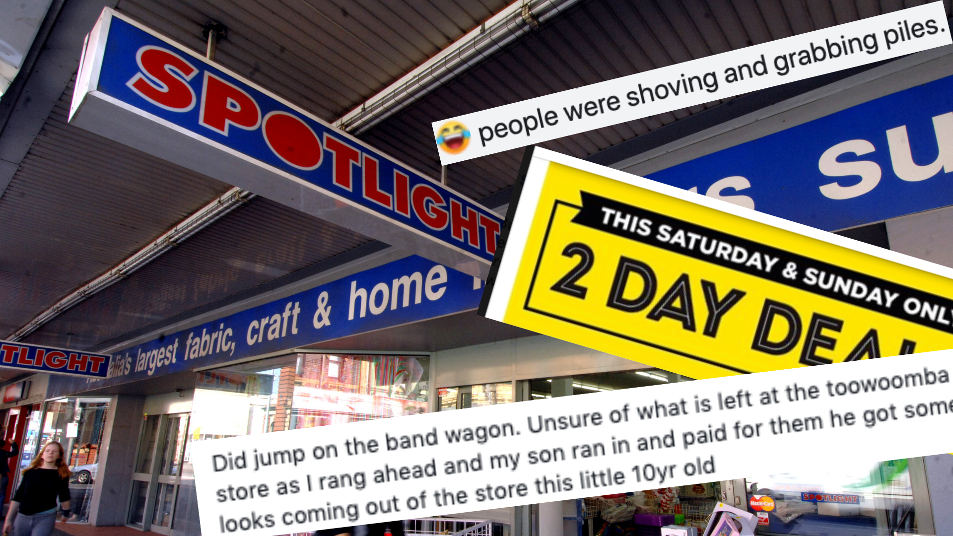 Sold out in minutes: $2 item flies off Spotlight shelves