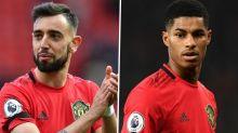 'Rashford is amazing' - Fernandes defends Man Utd star's goalscoring form