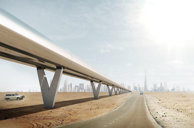Hyperloop One shows how its first routes could work