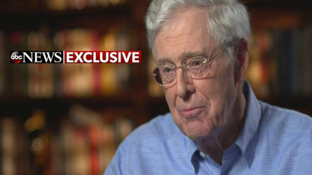 Charles David Koch We Know Who You Are >> Charles Koch: Why I Didn't Try To Stop Donald Trump
