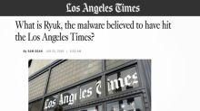 "Computer virus that halted Tribune Publishing newspapers identified as ""Ryuk"" ransomware"