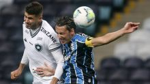Passividade custa caro e Botafogo é envolvido em derrota para o Grêmio