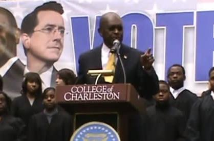 Good morning! Here's Herman Cain singing the Pokemon 2000: The Movie theme song