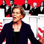 Democratic Rivals Try to Tear Down Frontrunner Elizabeth Warren's 'Pipe Dream' Plans