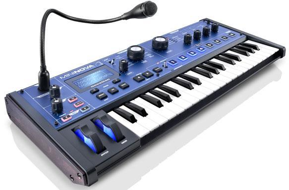 Novation launches MiniNova compact hardware synth with 'VocalTune' (video)