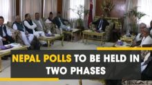 Nepal Polls to be held in two phases