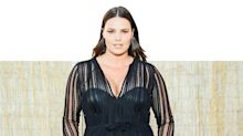 Size 16 Model Candice Huffine Makes Her NYFW Runway Debut in Sheer Dress By Sophie Theallet