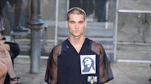 These Givenchy Men's Shirts Are on Fire, Literally