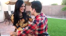 This Paralyzed Man Sweats With Girlfriend