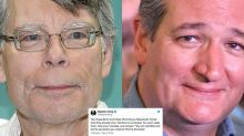 Stephen King is really going after Ted Cruz on Twitter