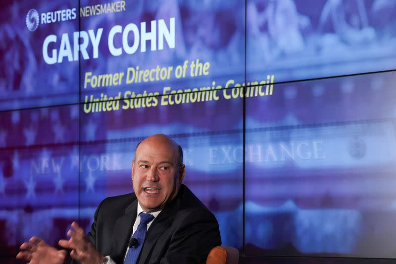 Ex-Trump adviser Cohn seeks $600 million for blank-check company IPO