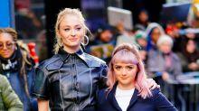 Maisie Williams said goodbye to Arya by going bleach blonde