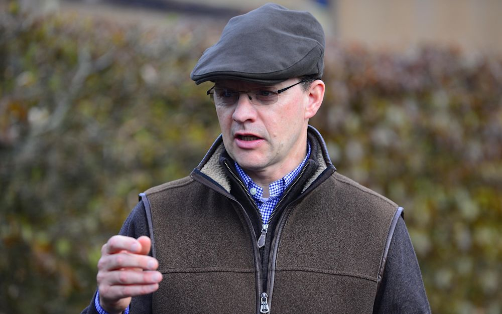 TrainerAidan O'Brien is looking forward to the2,000 Guineas - Copyright (c) 2016 Rex Features. No use without permission.